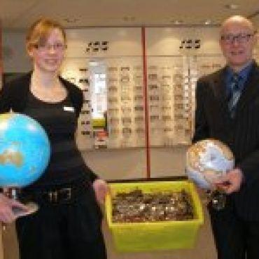 """""""Brillen für die Welt""""  Hilfsaktion von 1-2-3 Brille"""